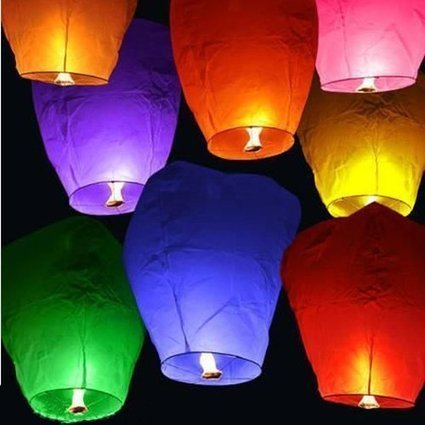 Chinese Sky Lanterns | Porch, Patio and Outdoor Decor | Scoop.it