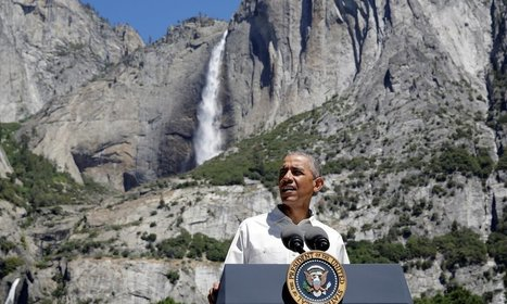 Obama at Yosemite attacks 'lip service' to natural beauty amid climate inaction   US news   The Guardian   GarryRogers Biosphere News   Scoop.it