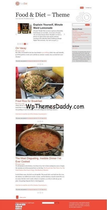 Free Magazine WordPress Themes 2015 ~ Free WordPress Themes - WP Themes Daddy   Free Wordpress Themes   Scoop.it
