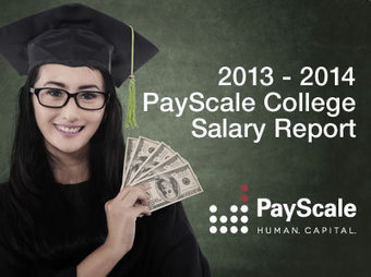 College Salary Report 2012-13 - PayScale | ESRM | Scoop.it