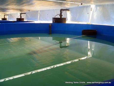 Building Aquaculture Tanks from Plastic Sheet   Earthan Group Pty Ltd   Integrated Aquaculture   Scoop.it