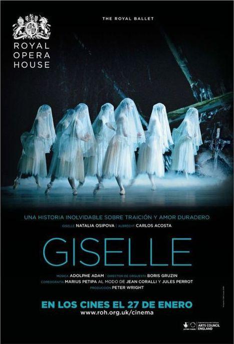 BALLET: 27 de enero. Giselle del Royal Ballet en directo en los cines   Terpsicore. Danza.   Scoop.it