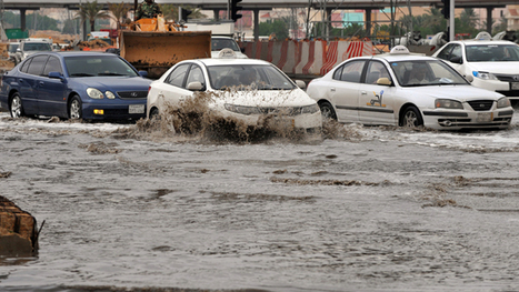Saudi capital hit with rare floods, residents urged to stay indoors (PHOTOS) | Intervene | Scoop.it