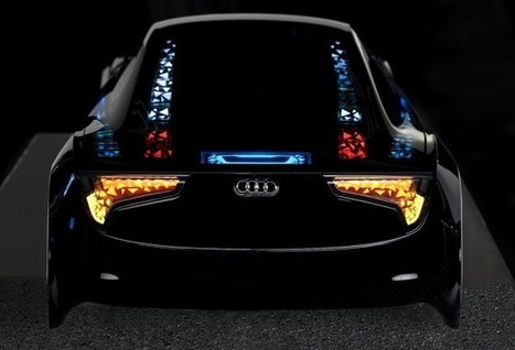 Audi showcases new lighting, autonomous driving technology | Cars and Road Safety | Scoop.it
