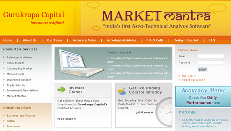 PHP based Finance Management Website | financial products Store | Portfolio | Scoop.it