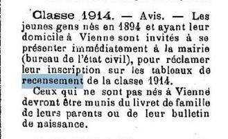 1870 - 1914 : Les étapes de l'appel des classes : première étape, le recensement | Nos Racines | Scoop.it