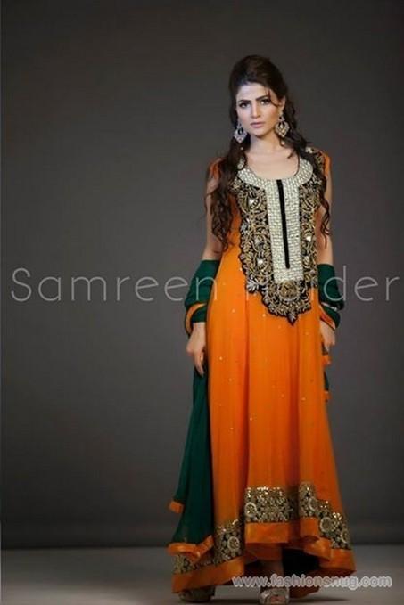 SamreenHaider Formal Wear Dresses 2014 In Stores | Fashion Blog | Scoop.it