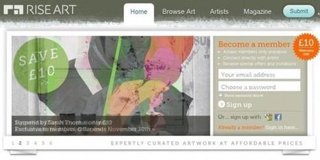 Riseart – Para comprar y vender arte usando una red social | VIM | Scoop.it
