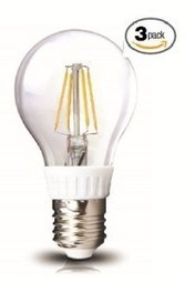 LED2020 ZL-A19-FIL-4W-27K-3PACK LED 2700K Filament Edison Style A19 4W Incandescent Bulb, Small, Soft White, 3-Pack   Best Internal Hard Drives(HDD)   Scoop.it