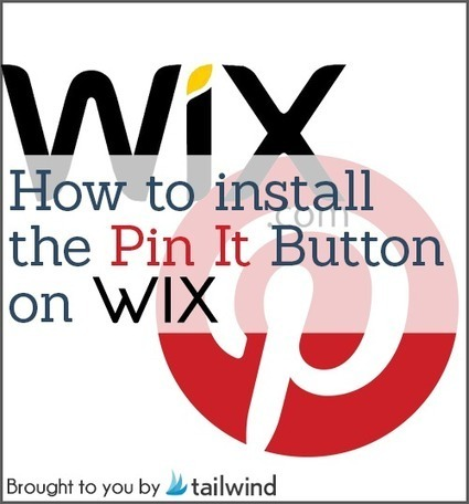 Wix Pin It Button: Installation Guide | using my shovel to Scoop | Scoop.it
