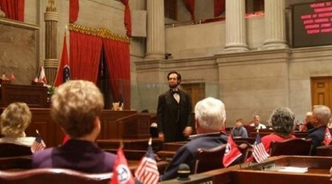 Excitement At The Williamson County Library - Meet Abe Lincoln | Tennessee Libraries | Scoop.it