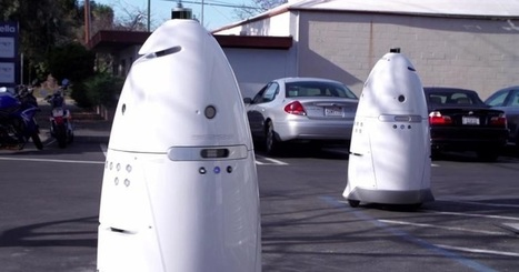 Meet Knightscope's Crime-Fighting Robots | Xposed | Scoop.it