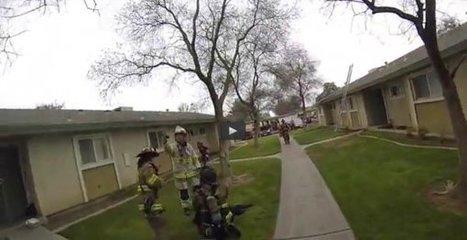 États-Unis | Trois enfants sauvés du feu par les soldats du feu - AllôLesPompiers | Les Sapeurs-Pompiers ! | Scoop.it