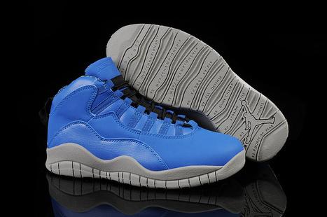 Air Jordan 10 University Blue Custom for Sale Online | Nike Air Jordans | Scoop.it