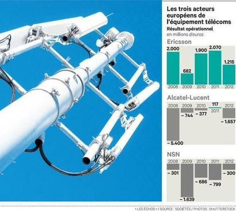 Ericsson, l'européen qui résiste aux chinois   4G et Réseaux Mobiles   Scoop.it