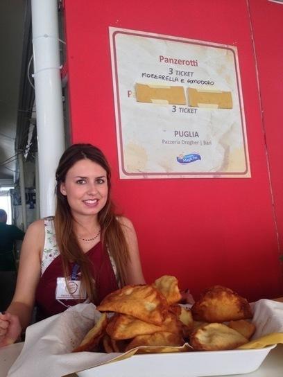 Anne Robichaud at the Ascoli Piceno's Fritto Misto Festival | Le Marche and Food | Scoop.it