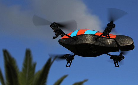 Flying hacker contraption hunts other drones, turns them into zombies | Peer2Politics | Scoop.it