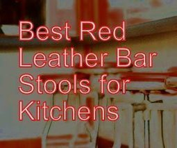Red Leather Bar Stools for Kitchen – Red Kitchen Accessories | Home and Garden | Scoop.it
