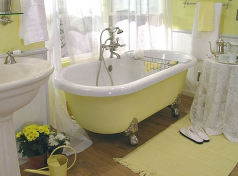Clawfoot tub accessories   Clawfoot bathtub   Scoop.it