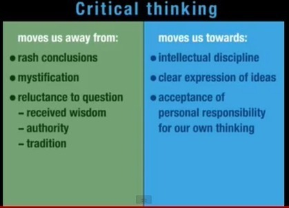 What Does Critical Thinking Mean in Education ? ~ Educational Technology and Mobile Learning | Media and information Literacy | Scoop.it