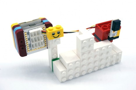Power Up That LEGO Creation With Microduino mCookie   Robotics and Electronics   Scoop.it