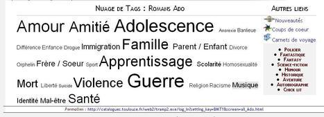 Découvrez ou redécouvrez le portail Ado de la Bibliothèque de Toulouse | Bibliothèque de Toulouse | Scoop.it