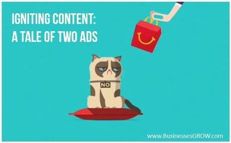 Igniting Content: A Tale of Two Ads | MarketingHits | Scoop.it