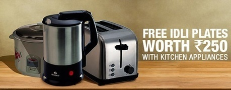 Kitchen Appliances - FREE Idli Plates , deals fromHome and Garden, discount voucher from India | thetradeboss | Scoop.it