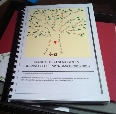Mon journal de Recherches Généalogiques | RoBot généalogie | Scoop.it