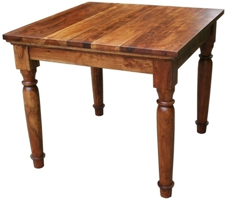 Square Tuscan Dining Table | Mexican Furniture & Decor | Scoop.it