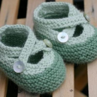 Knit Baby Booties {Free Pattern} — Tip Junkie Homemade | home made | Scoop.it