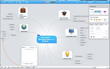 Mindmapping with MindMeister… | Technology Enhanced Learning | Technology Enhanced Learning at Glyndwr | Scoop.it
