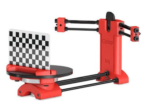 BQ lança scanner 3D Ciclop | Heron | Scoop.it