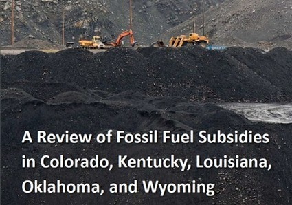 Fossil Fuel Subsidies Run Rampant at the State Level | EcoWatch | Scoop.it