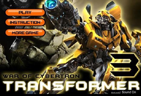 Transformer 3 | Transformers Games | Sonic Games | Power Rangers Games | Scoop.it