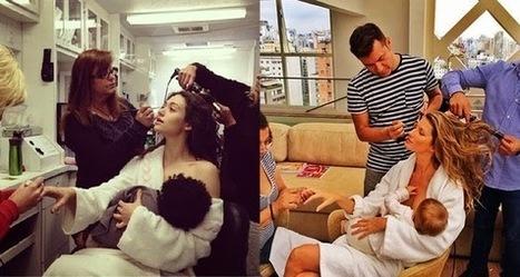 :::::Emmy Rossum mocks Gisele Bundchen's multitasking breastfeeding photo ~ trends more::::: | world's latest topics | Scoop.it
