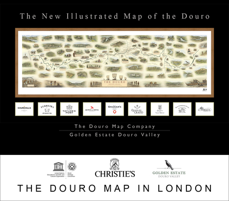 New map of the Douro offered by Christie's | The Douro Index | Scoop.it