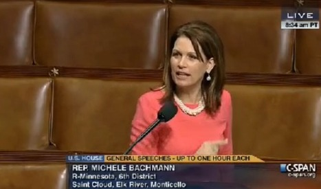 Michelle Bachmann Attributes Fight Against Obamacare to Her 'Born Again' Christian Nature (VIDEO) | Daily Crew | Scoop.it