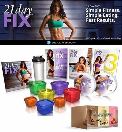 21 Day Fix Portion Control and 30 Minute Exercise Routine | New As Seen On TV Products | Health & Wellness | Scoop.it