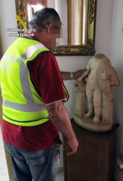 La Guardia Civil recupera tres valiosas esculturas romanas que se perdieron en Bullas hace un siglo | Centro de Estudios Artísticos Elba | Scoop.it