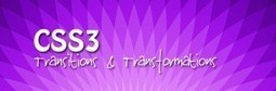CSS3 Amazing Transitions And Transformations | Creative Verse | Web Design, CSS, HTML | Scoop.it