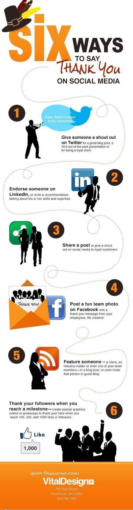 6 formas de decir gracias en la Social Media - Lukor | Comunicación inteligente y creativa | Scoop.it