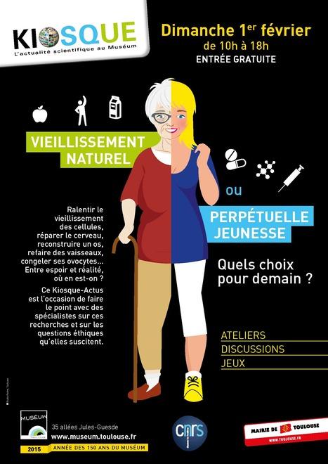 Kiosque Actu CNRS/Muséum du 1er février : vieillissement naturel ou perpétuelle jeunesse | Actualité des laboratoires du CNRS en Midi-Pyrénées | Scoop.it