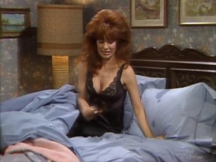 Photos of Katey Sagal as the notorious Peg Bundy wearing some sexy #vintage Olga nightgowns | Lingerie Love | Scoop.it