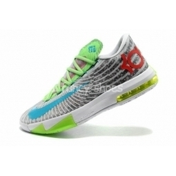Buy Nike KD 6 Mens Green Grey Red Blue Shoes for Cheap Sale   mens shoes online   Scoop.it