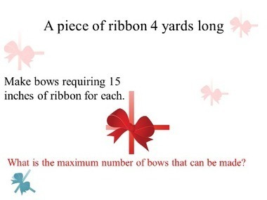 A piece of ribbon   THE MORE YOU PRACTICE MATHS, THE MORE SURE YOU ARE!   Scoop.it