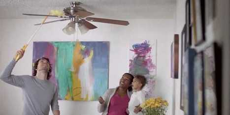 Swiffer's New Ad Features A Real Multi-Racial Couple And An Amputee Dad Who Cleans The House | Mixed American Life | Scoop.it