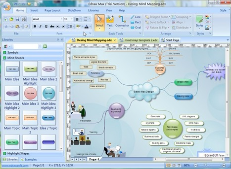 Edraw Mindmap - Free Mind Mapping Software | E-learning, Moodle y la web 2.0 | Scoop.it