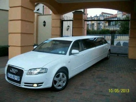 Stretched Audi Limo Hire In Johannesburg - Johannesburg Party Bus Hire | ferrari hire | Scoop.it