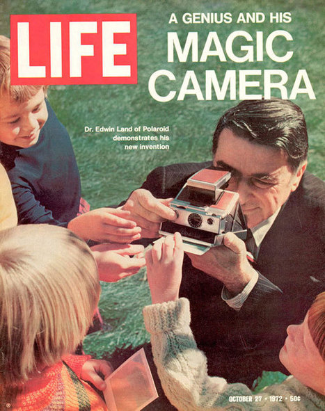 Happy birthday to Edwin Land, inventor of the Polaroid camera - imaging resource | Polaroid | Scoop.it